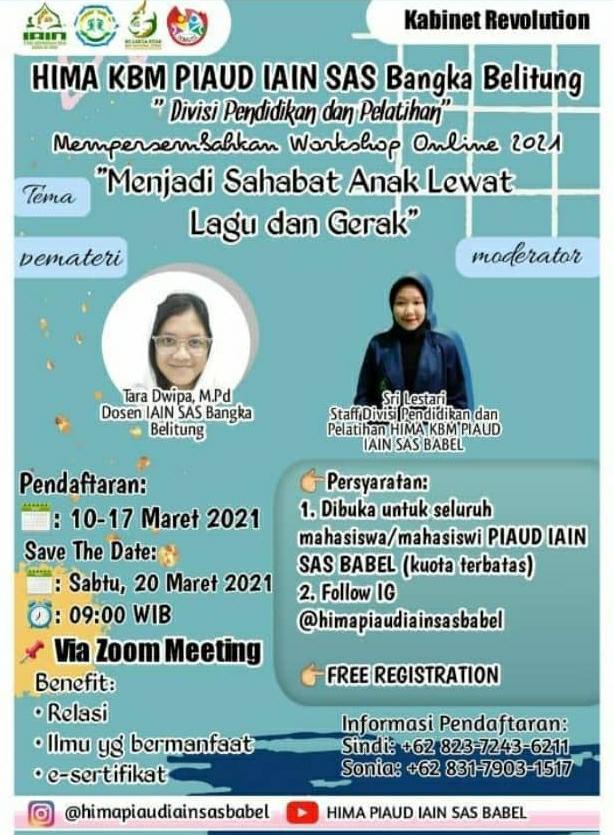 Workshop Online 2021