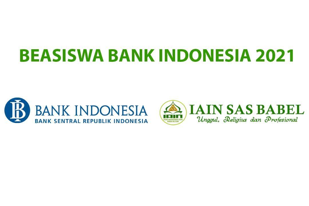 50 Kuota Beasiswa Bank Indonesia Untuk Mahasiswa IAIN SAS Bangka Belitung