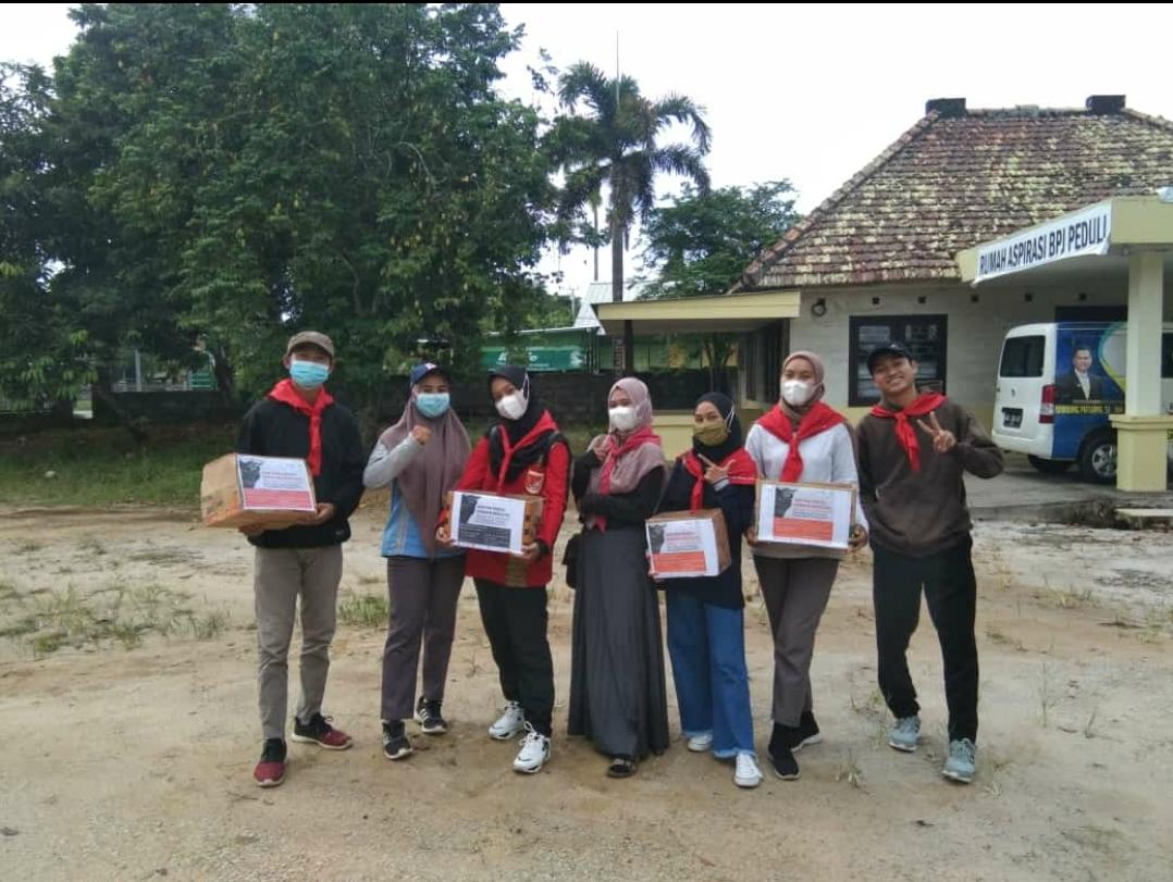 Aksi Penggalangan Dana dari UKK KSR PMI IAIN SAS Babel untuk NTT