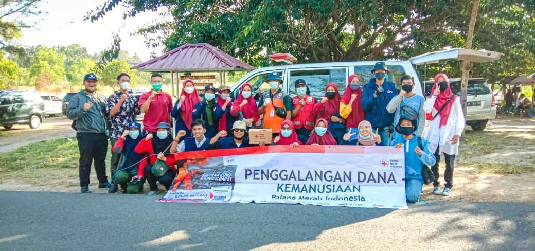 Bantu Korban Gempa, UKK KSR PMI Unit IAIN SAS Babel Gandeng PMI Kabupaten Bangka adakan Penggalangan Dana
