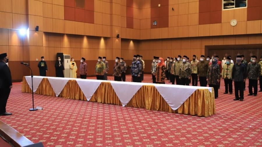 Drs. H. Eramli Jantan Abdullah, M.M Duduki Jabatan Baru Sebagai Kepala  Biro AUAK IAIN SAS Babel