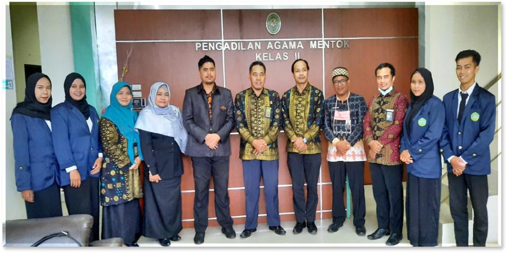 Fakultas Syariah dan Ekonomi Islam Lepas Mahasiswa Magang Di Tiga Pengadilan Agama
