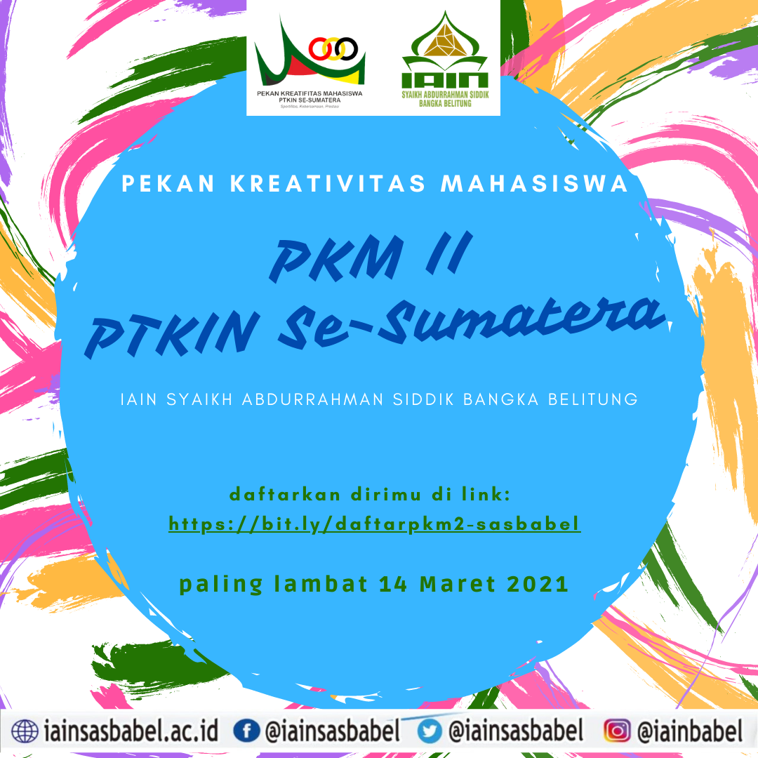 IAIN SAS Babel Siap Ikuti PKM II PTKIN Se-Sumatera Tahun 2021