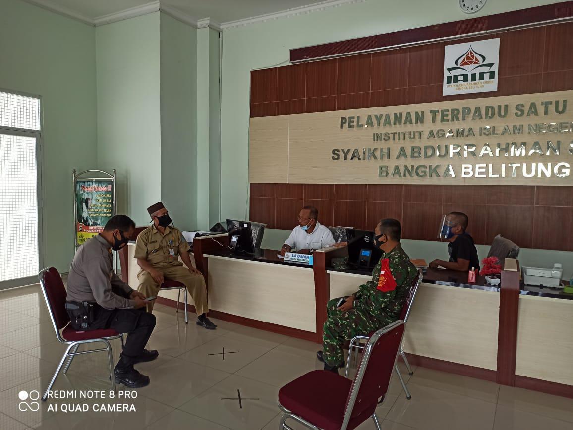 IAIN Syaikh Abdurrahman Siddik Bangka Belitung Kembali Terapkan WFH