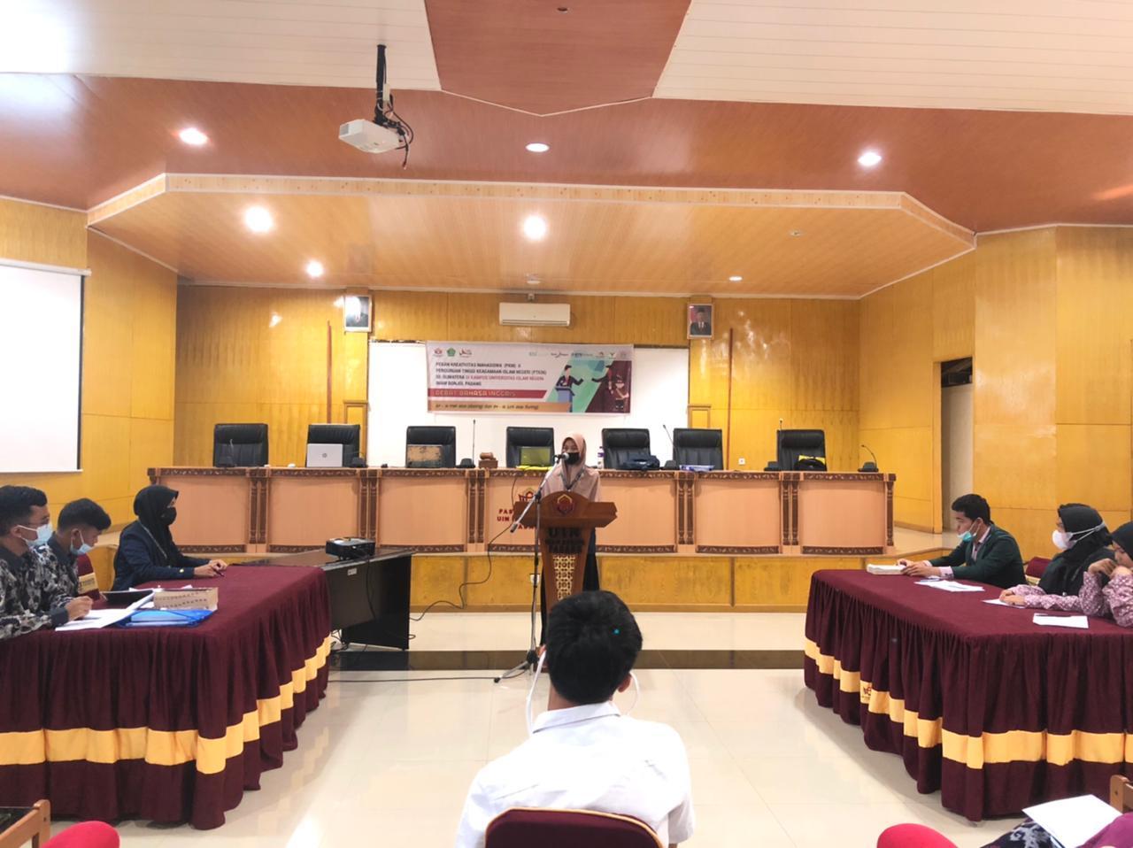 Kontingen IAIN SAS Babel di PKM II Se-Sumatera