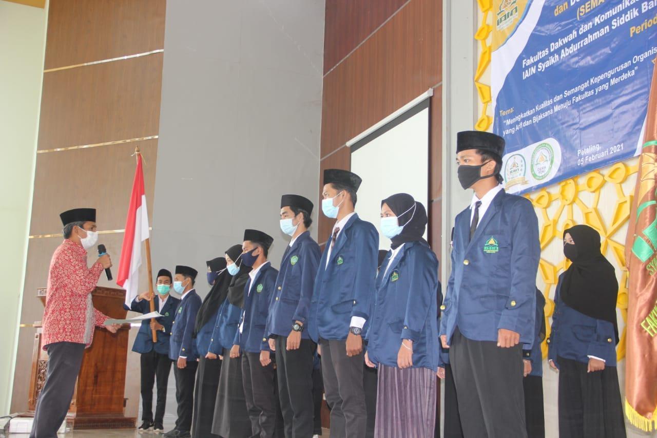 Wakil Dekan FDKI: Mahasiswa Harus Seimbangkan Ilmu dan Akhluk Karimah