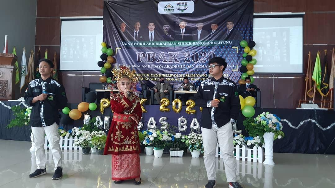Pembukaan Pengenalan Budaya Akademik dan Kemahasiswaan (PBAK) IAIN Syaikh Abdurrahman Siddik Bangka Belitung Tahun Akademik 2020/2021