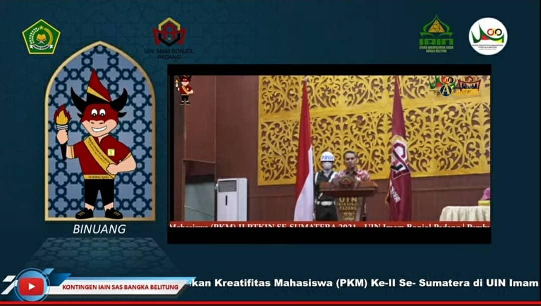 Pembukaan PKM II Se-Sumatera Diiringi dengan Harapan Mendapat Gelar Juara Umum