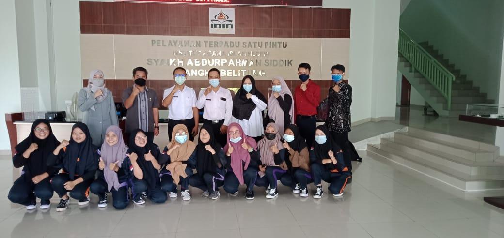 Penjemputan Siswa PKL SMKN 1 Simpang Katis