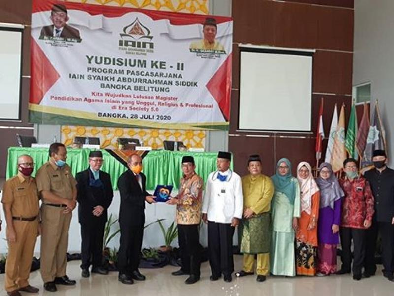 Dok. Yudisium Ke-2 Program Pascasarjana IAIN SAS BABEL