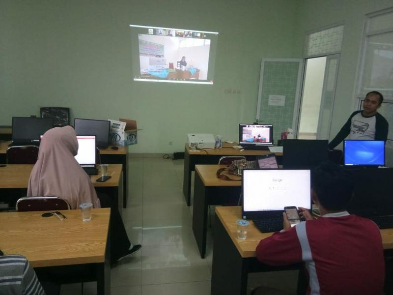Dok. Percobaan Akun Zoom Meeting Seleksi Kompetensi Bidang (SKB) Calon Pegawai Negeri Sipil (CPNS) IAIN Syaikh Abdurrahman Siddik Bangka Belitung