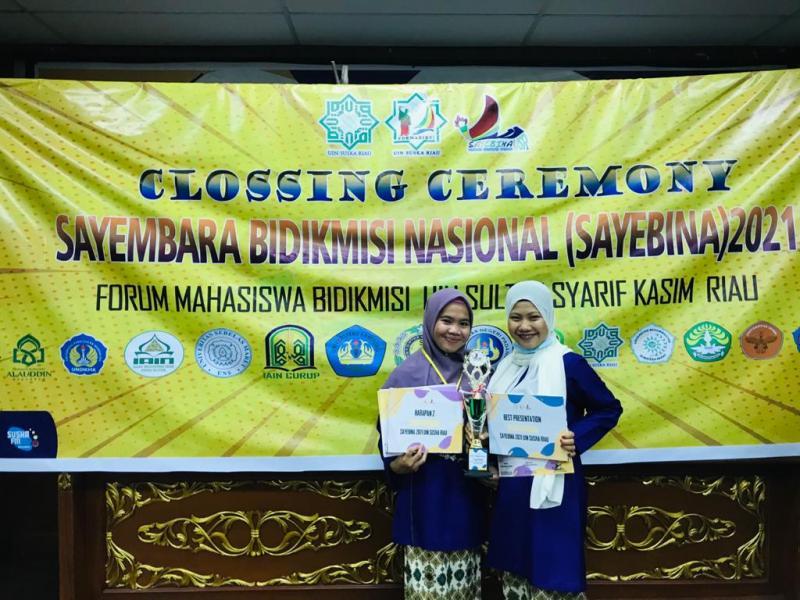 Bintari dan Safinah, Juara Harapan II Esai Nasional dan Best Presentation