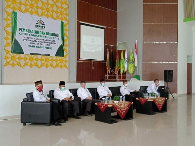 Para Pejabat/Undangan Acara Pembukaan  Pembekalan dan Orientasi CPNS Formasi Tahun 2019