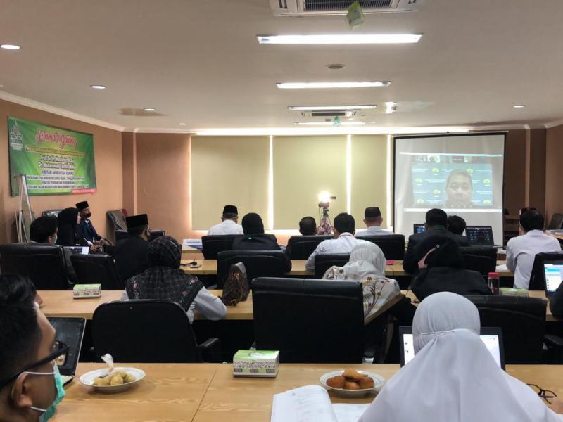 sambutan dari Dr. Muhammad Taufiki, M.Ag.