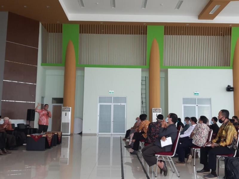 Arahan dari Dr. Irawan, S.Ag., M.S.I. Ketua Lembaga Penjaminan Mutu