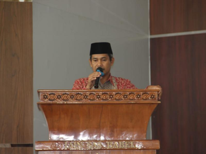 Sambutan Wakil Dekan, Nasrun Supardi, M.A.