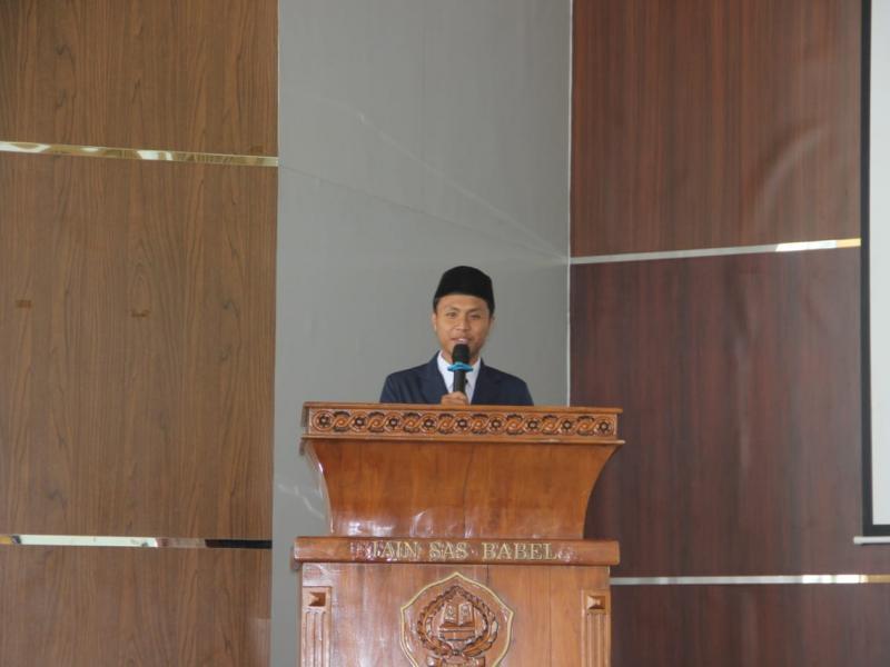 Sambutan Ketua SEMA Fakultas Dakwah dan Komunikasi Islam