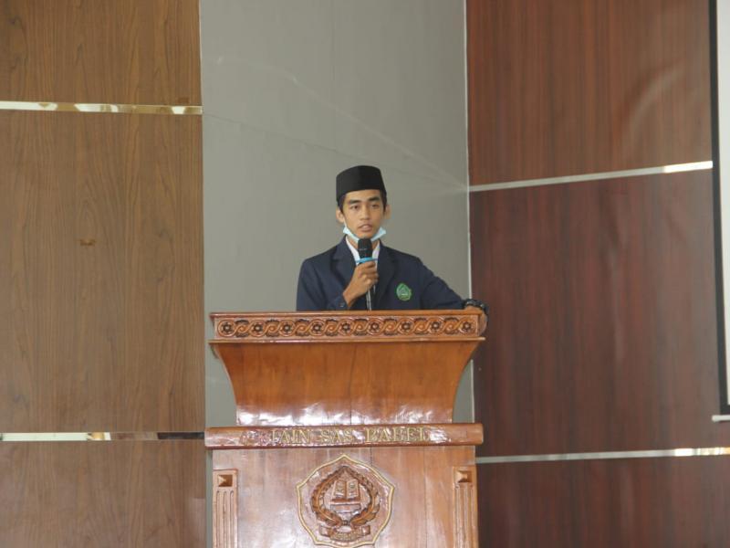 Sambutan Ketua DEMA Fakultas Dakwah dan Komunikasi Islam