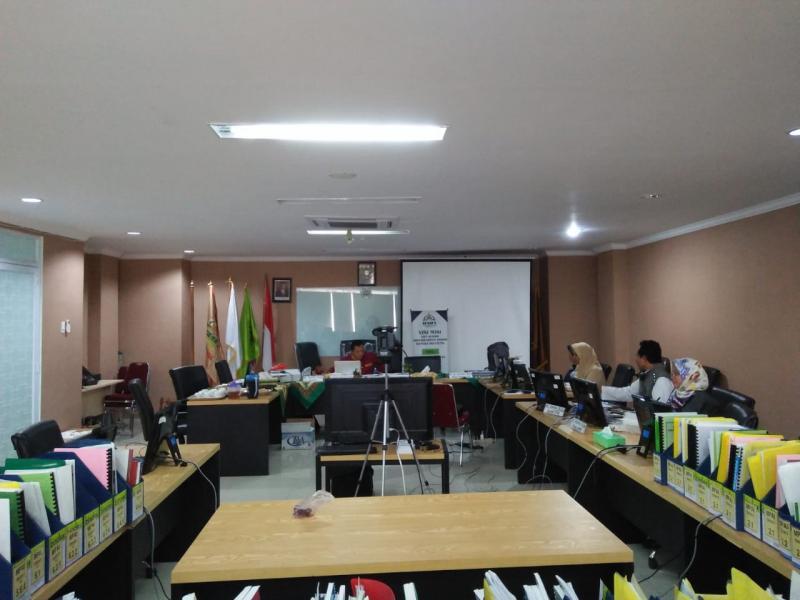 Persiapan Asesmen Lapangan (AL) Prodi PAI Pascasarjana IAIN SAS Bangka Belitung