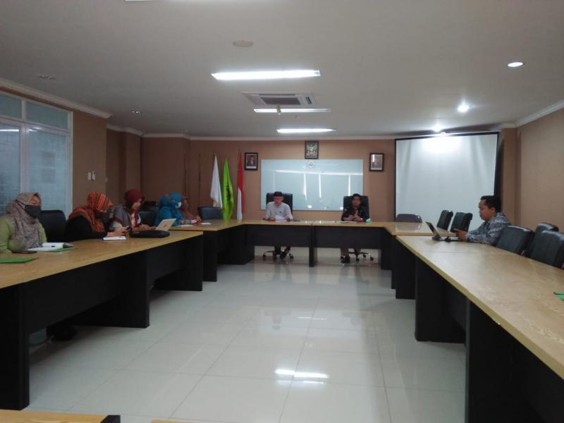 Suasana Rapat Persiapan Perkuliahan Semester Genap 2020/2021 FDKI
