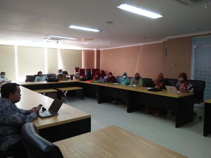 Peserta Rapat Persiapan Perkuliahan Semester Genap 2020/2021 FDKI