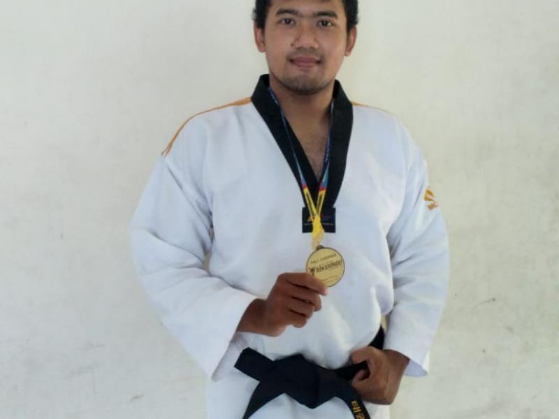 M. Ghalid Ghiffari, Juara 1 Taekwondo Championship 2021Se-Provinsi Kep. Bangka Belitung