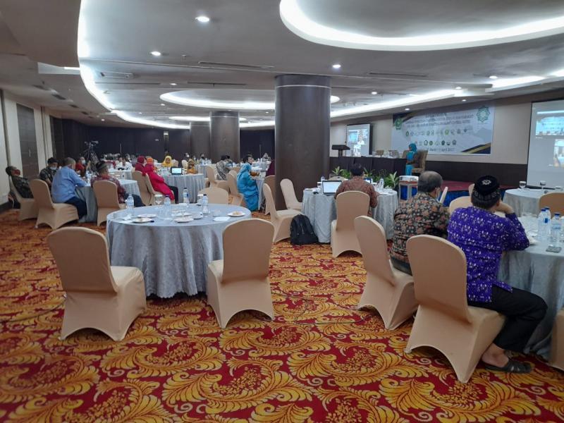 Suasana Forum Koordinasi Lembaga Penelitian dan Pengabdian kepada Masyarakat (LP2M) UIN, IAIN, dan STAIN se-Sumatera