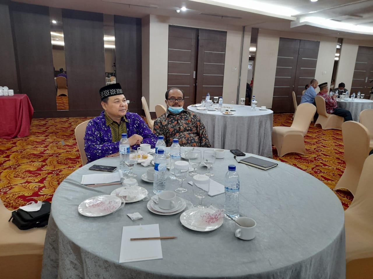 LP2M IAIN SAS Babel Hadiri Rakor LP2M UIN, IAIN, dan STAIN se-Sumatera