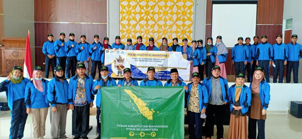 Rektor Lepas Kontingen IAIN SAS Babel Mengikuti PKM II Se-Sumatera
