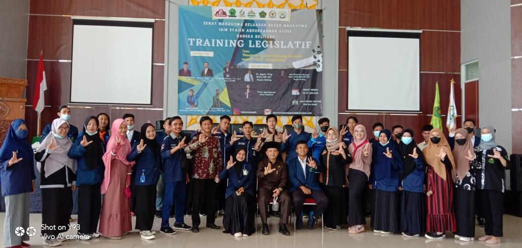 Senat Mahasiswa IAIN SAS Babel Sukses Gelar Training Legislatif I (Pertama)