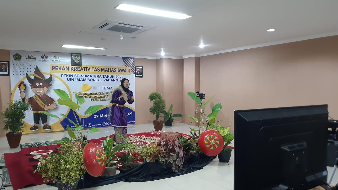 Septaviona, Salah Satu Perwakilan IAIN SAS Babel dalam ajang PKM II Se-Sumatera