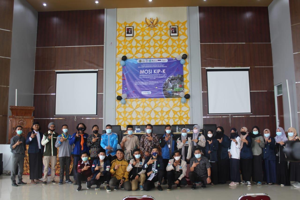 Siapkan Generasi Emas Indonesia 2045, Formasi KIP-K IAIN SAS Babel adakan MOSI KIP-K