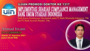 Dosen IAIN SAS Babel Raih Gelar Doktor di UIN Syarif Hidayatullah Jakarta