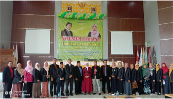 Fakultas Tarbiyah IAIN SAS Bangka Belitung Yudisium 225 Mahasiswa