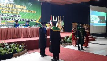 IAIN SAS Bangka Belitung Wisuda 156 Lulusan