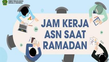 IAIN SAS Babel Lakukan Penyesuaian Jam Kerja Pada Bulan Ramadan 1442 H