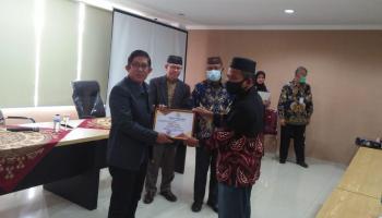 IAIN SAS Bangka Belitung Gelar Acara Pelepasan Purna Bakti PNS