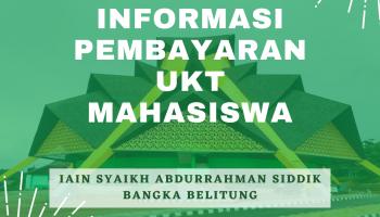 Informasi Pembayaran UKT Mahasiswa IAIN SAS Babel
