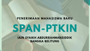 Informasi Penerimaan Mahasiswa Baru Jalur SPAN-PTKIN