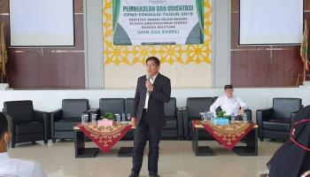 Kegiatan Pembekalan dan Orientasi CPNS Formasi Tahun 2019