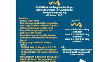 Lomba Cipta Puisi Kementerian Pemberdayaan Perempuan DEMA IAIN  SAS BABEL  2020