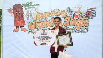 Mahasiswa IAIN SAS Babel Raih Juara 1 Cipta Lagu/Jingle KPU Bangka Tengah