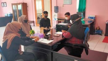 Mahasiswa PKL Prodi HKI Gelar Simulasi  Mediasi di Pengadilan Agama Tanjungpandan