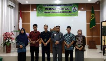 Mahasiswa PKL Prodi HKI Hadiri Pelantikan dan Pengambilan Sumpah Jabatan Ketua Pengadilan Agama Muntok