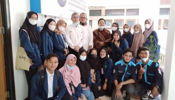 Mahasiswa Prodi KPI IAIN SAS Bangka Belitung Kunjungi TVRI Bangka Belitung