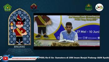 MHQ/Kontingen IAIN SAS Bangka Belitung M. Zaini