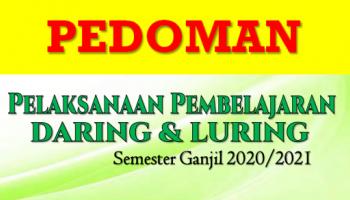 Pedoman Pembelajaran Daring dan Luring  Semester Ganjil 2020/2021