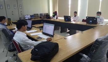 Pelaksanaan Seleksi UM-PTKIN Berbasis SSE IAIN SAS Bangka Belitung Berlangsung Lancar