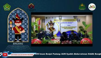 Pembukaan PKM Ke-II UIN Imam Bonjol Padang/IAIN SAS Bangka Belitung