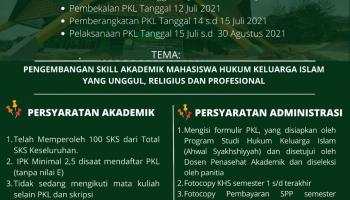 Pengembangan Skill Akademik Hukum Keluarga Islam yang Unggul, Religius dan Profesional